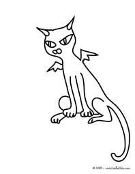 Small Picture BLACK CATS coloring pages 15 printables to color online for