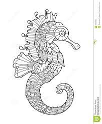 Coloriage Hippocampe Mandala L L L L L L L L L L