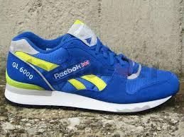 reebok 6000 gl. zoom immagine scarpe reebok gl 6000 j98339 uomo running retro royal blue gl