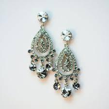 chandelier earring silver crystal chandelier earring with silver sterling silver chandelier earring findings