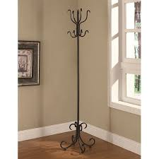 Overstock Coat Rack Adorable Shop Black Finish Metal Coat Rack Free Shipping Today Overstock