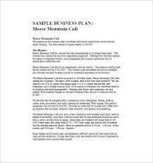small business plans examples restaurant business plan examples inzare inzare