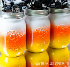 candy corn mason jars 5