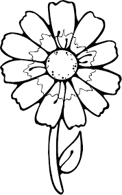 Coloring Pages For Spring Flowers Coloring Page Flowers 2 As Well As