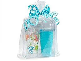 clear cellophane bags basket bags cello gift bags gusset style bag 12 in x 4