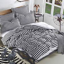 blue and white striped sheets. Wonderful White Black And White Striped Comforter Bed Linen Stunning  Sheet Set Blue On And Sheets S