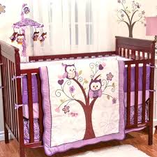 purple baby bedding sets baby girl owl bedding purple purple nursery bedding sets