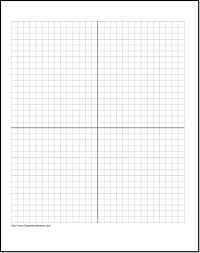 Practice Your Graphing With This Printable X Grid Coordinate Graph
