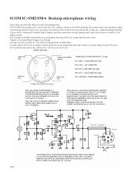 icom mic wiring diagram wiring library
