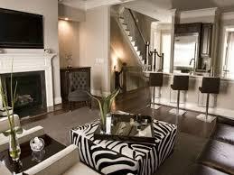 animal prints in luxury living rooms