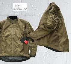 アークテリクスリーフアトム lt jacket arc teryx leaf atom lt hoody jacket military line men jacket um size