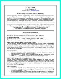 Beaufiful Construction Management Job Description Images Resume