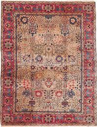 antique tabriz rug 9 9 x 12 7