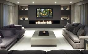 Modernes Wohnzimmer Mit Kamin Und Tv Wohnwand Pinterest Tv Wände Mit Kamin Tv Wände Für Die Perfekte Inneneinrichtung Grundrisse