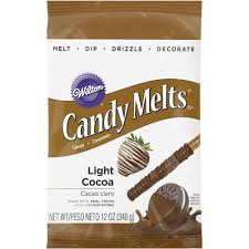 Wilton Light Cocoa Candy Melts Candy Melts Light Cocoa 12oz By Wilton