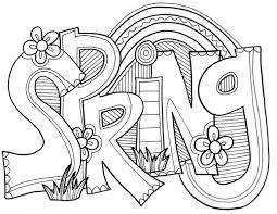 Free printable coloring pages for children that you can print out and color. Spring Coloring Pages Best Coloring Pages For Kids