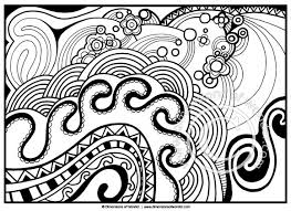 Small Picture Abstract Coloring Pages For Adults Printable Bebo Pandco