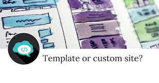 Whats The Difference Between Choosing A Template Or Paying