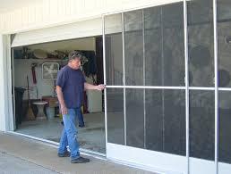 garage screen door slidersGarage Doors  Garageoor Screen Kits Homeepot Lowes Sliding