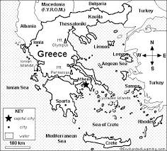Small Picture Ancient Greece Map Worksheet Photos Beatlesblogcarnival Places