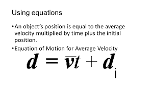equation for average velocity jennarocca