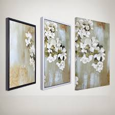 40cm x 60cm apple blossom modern minimalist living room decorative painting frame painting triptych oil paintings free in painting calligraphy