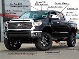 Custom Toyota Tundra Trucks near Raleigh and Durham, NC