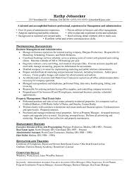 Resume Objectives For Managers It Project Manager Resume Samples