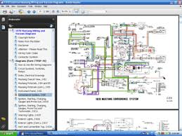 colorized wiring and vacuum diagrams cd screenshot of 1970 colorized mustang wiring diagrams