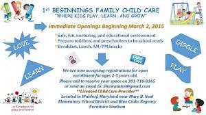 Childcare Flyer Elim Carpentersdaughter Co