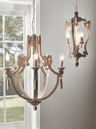 wooden chandelier small within wood candle ideas 5