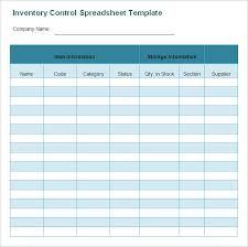 Inventory Spreadsheet Template 48 Free Word Excel Documents