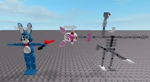 Make Roblox I Split Some Fnaf Models To Make A Roblox Rig Out Of Them How Does