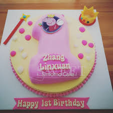 Number Cake Birthday Cake Peppa Pig Pink Cake For Girls Food