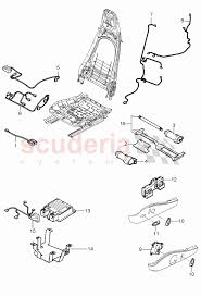 wiring harnesses switch control units sports seat for porsche 911 enlarge diagram · Â