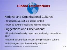 organizational culture 19