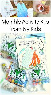 monthly activity kits from ivy kids these book inspired subscription bo are full of
