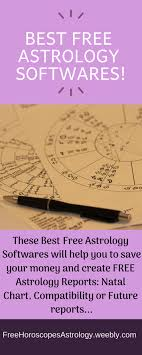 Best Free Astrology Softwares