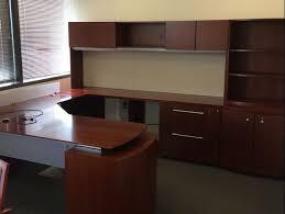 u shaped office desks for sale. Wonderful Desks Gunlocke Executive UShaped Desk For Sale On U Shaped Office Desks P