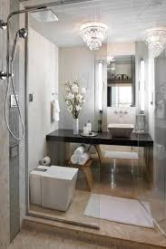 bathroom chandelier lighting ideas. contemporary 34 bathroom with soapstone counters glass tile stone wall chandelier lighting ideas