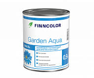 <b>Акриловая эмаль Finncolor Garden</b> Aqua (<b>Гарден</b> Аква) купить (0,9 ...