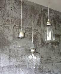 3er Set Hängelampe Lampe Klassisch Glas Antique Shabby Chic