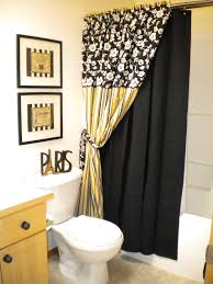 Great Image Of Black+white+gray+and+yellow+bathroom+decor Black ...