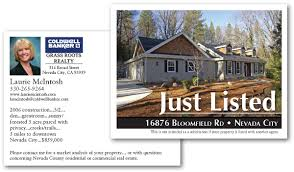 real estate post cards dirt digital small just real estate postcard