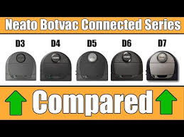 Neato Botvac Connected D3 Vs D4 Vs D5 Vs D6 Vs D7 Compared