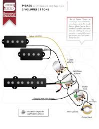 wiring diagrams seymour duncan part 10 pbass jstk 2v 1t