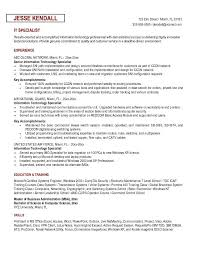 ... Stylist And Luxury It Specialist Resume Example Information Technology  Sample ...