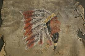 19th Century Native American Painting