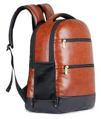the clownfish brown jovial backpack leather bag men gents bag carry bag men the clownfish brown jovial backpack leather bag men gents bag carry bag