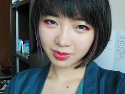 anese red eyeshadow i decided to keep the red eyeshadow on the lower lashline makeup used